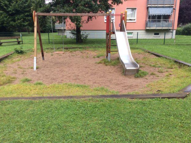 Spielplatzprüfung und Reparaturen erfolgen durch die HBR Hamburg
